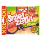 NIMM2 Śmiejżelki Żelki kwaśne XXL 180g