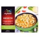 MY FOOD Krewetki obrane z sosem maślano-koperkowym 250g