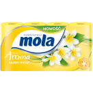 MOLA FRESH Papier toaletowy Żółty, 8 szt 1szt