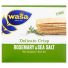 WASA Delicate Thin Crisp Crispy bread with rosemary and sea salt 190 g