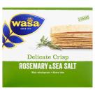 WASA Delicate Thin Crisp Crispy bread with rosemary and sea salt 190g