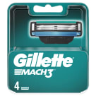 GILLETTE Mach3 4 Replacement Blades 1 pc