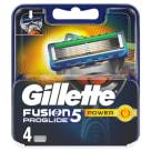 GILLETTE FUSION PROGLIDE Power Blades - 4 per pack 1pc