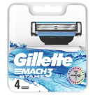 GILLETTE Mach3 Start Razor blades 4 pieces 1 pc