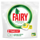 FAIRY All in One Dishwasher capsules Lemon 24 pcs 1 pc