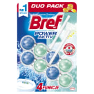 BREF Power Aktiv Zawieszka do WC Odor Stop 2x50g 1 szt