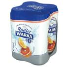 WARKA Radler Piwo bezalkoholowe Grejpfrut i Pomarańcza 4x500ml 2l
