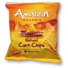 AMAIZIN Salted corn chips BIO 75 g