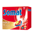 SOMAT Gold Tablets for dishwashers, 10 items 1 pc