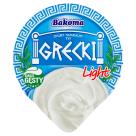 BAKOMA Grecki Jogurt naturalny light 180g
