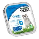 YARRAH Pokarm dla kota - kurczak z kawałkami ryby i spirulą BIO 100g