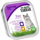 YARRAH Pokarm dla kota bezglutenowy - kurczak i indyk BIO 100g