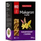 NATURAVENA Makaron bezglutenowy kukurydziany z quinoa rurki 250g