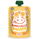 OVKO Pure apple, banana, carrot without sugar - after 6 months BIO 90 g