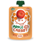 OVKO Pure apple, carrot without sugar - after 6 months BIO 90 g