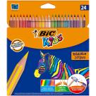 BIC Kids Kredki ołówkowe 24 kolory 1szt
