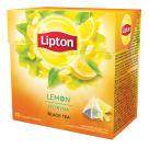 LIPTON Herbata czarna Cytryna 20 piramidek 34g