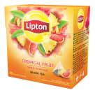LIPTON Herbata czarna aromatyzowana Owoce Tropikalne 20 piramidek 36g