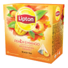 LIPTON Black flavored tea Peach and Mango 20 bags 36 g