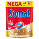 SOMAT Gold Tablets for washing dishes in dishwashers 54 pcs 1pc