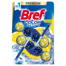 BREF Color Aktiv Pendant for toilet - Lemon 2x50g 1 pc