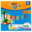 BIC Kids Plastelina 6 kolorów 1szt