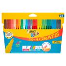 BIC Kids Flamastry 24 kolory 1szt