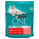 PURINA ONE Sterilcat Adult cat food rich in salmon and wheat 800 g