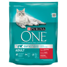 PURINA ONE Adult Adult cat food rich in beef and whole grains 800 g