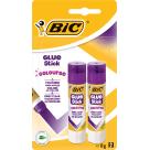 BIC Coloured Glue stick 2 pcs 16g