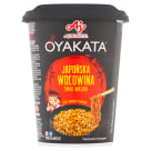 OYAKATA Japanese beef flavor wasabi. Instant dish with sauce 93g