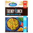 MELVIT Premium Trendy Lunch Basmati beans curry peppers (4 x 80 g) 320 g