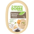 Z GRUNTU DOBRE Hummus Premium z czarnuszką 120g