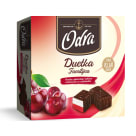 ODRA Duetka Familijna Foam with jelly and cherry juice in chocolate 400g