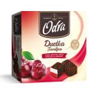 ODRA Duetka Familijna Pianka z galaretką z sokiem wiśniowym w czekoladzie 400g