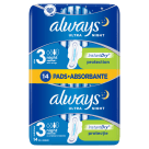 ALWAYS Ultra Night Duo Pack Hygienic Pads 2x7 pcs 1 pc