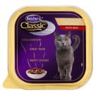 BUTCHER'S Classic Pro Series Karma dla kotów kawałki w sosie z wołowiną 100g