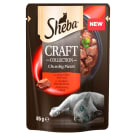 SHEBA CRAFT COLLECTION Cat food with Beef in Sos - Sachet 85 g