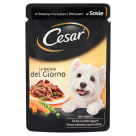 CESAR Food for Dogs with Chicken and Vegetables in Sos - Sachet 100 g