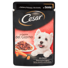 CESAR Food for Dogs with Beef and Carrots in Sos - Sachet 100 g