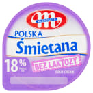 MLEKOVITA Bez laktozy 18% cream without lactose 200 g