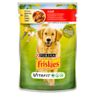FRISKIES Vitafit Adult Dog food with beef and carrot jelly 100 g