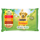 FRISKIES Vitafit Adult Dog food beef chicken and lamb in jelly 4x100g 400 g