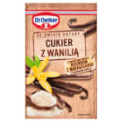 DR. OETKER Ze świata natury Cukier z wanilią z dodatkiem wanilii bourbon z Madagaskaru 12g