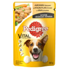 PEDIGREE Adult Food for Dogs with Chicken and Vegetables in Sos 100 g