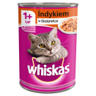 WHISKAS 1+ Cat food with turkey in Jelly - Puszka 400 g