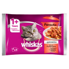 WHISKAS Potrawka 1+ Cat Food - Traditional Tastes in Jelly (4 sachets) 340 g