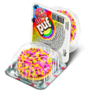 ETI Puf Biscuit with marshmallow foam and sprinkles with colored granule 18 g