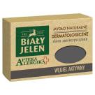 BIAŁY JELEŃ Apteka Alergika Dermatological soap with activated carbon 125g