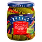 KRAKUS Ogórki korniszony z chili 500g